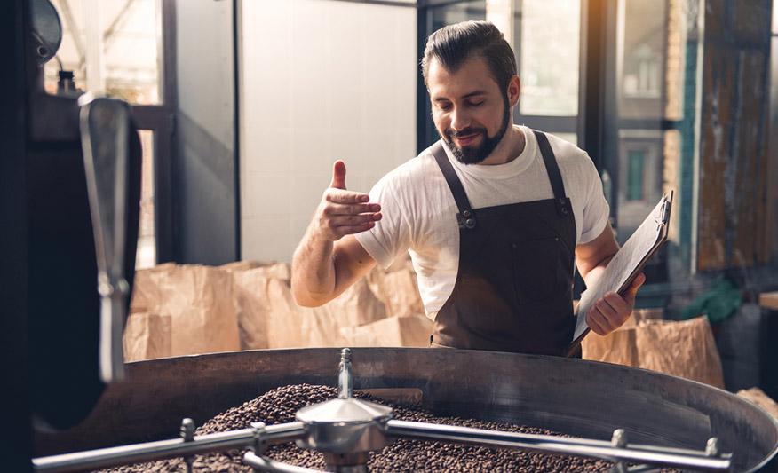 Kaffee & Tee Lieferung
